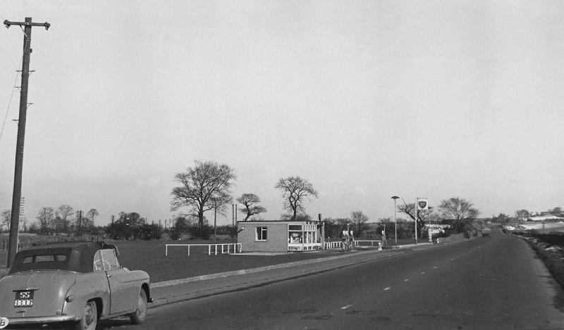 BP Garage, Wallyford, 1960s now Strawberry Corner on old A1