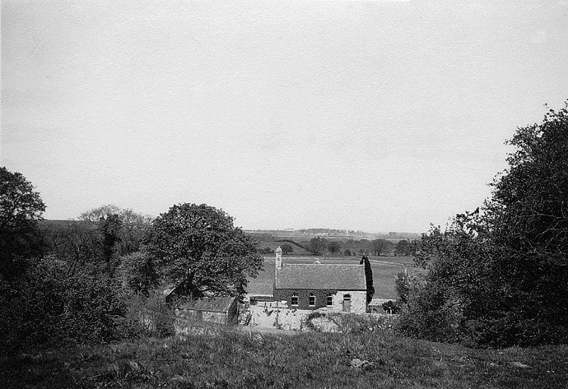 Morham Parish Church from south, 1940s