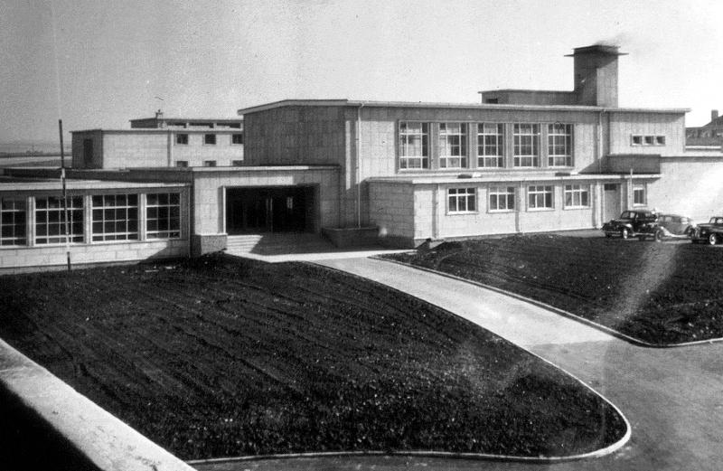North Berwick High School, c1955.