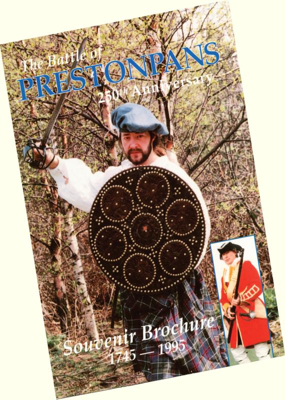 Battle of Prestonpans Souvenir Brochure