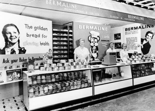 Bermalines Bread promotional stand
