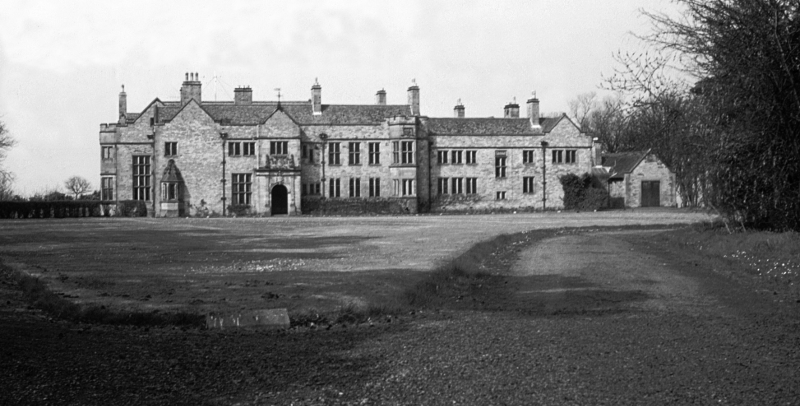 Carlekemp Priory School, south elevation, main building