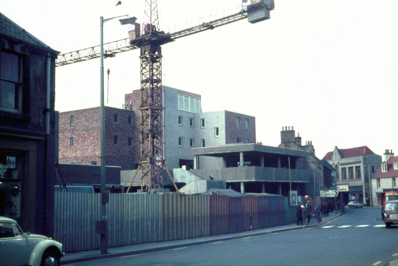 Civic Square under construction