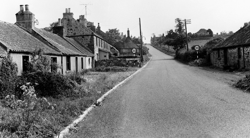 Cottages at Needless, Athelstaneford.
