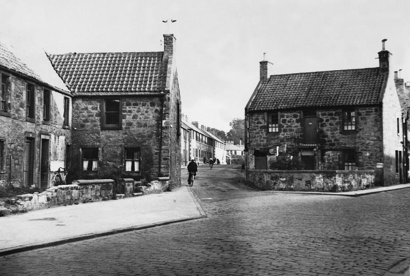 Felton Green Lane,   Newbigging,   pictured early 1950s