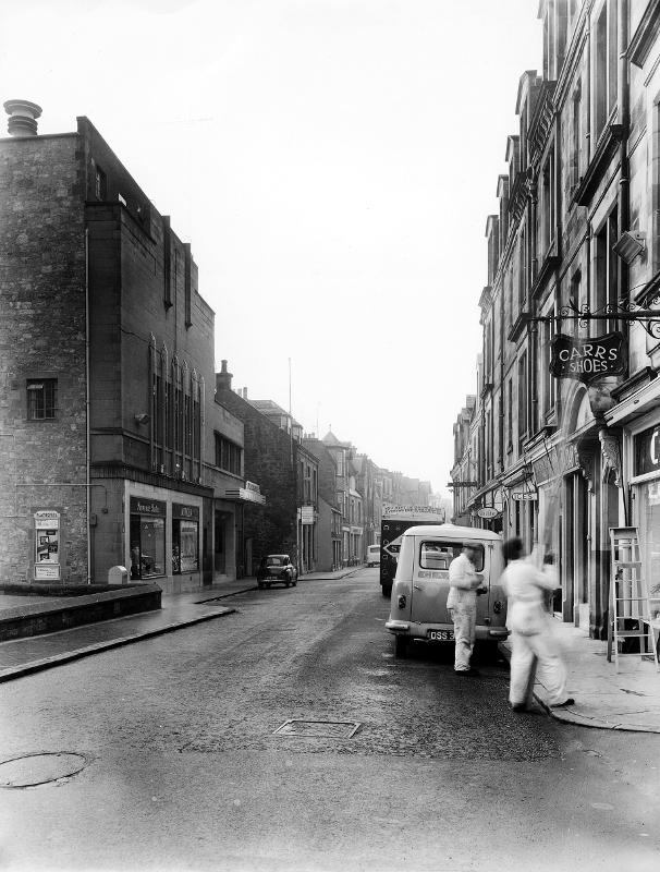High Street,  North Berwick,  1960s.