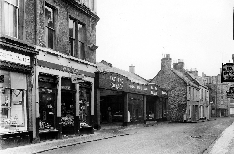 East end of the High Street, 1950s