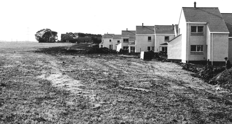 New houses at West Windygoul