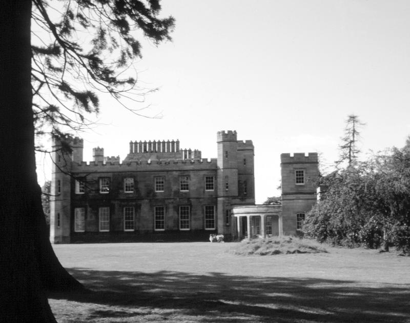 Newbyth mansion, 1972