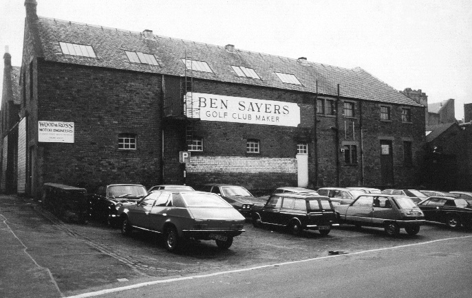 Old Ben Sayers factory