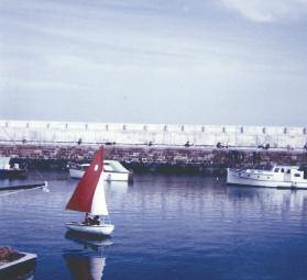 Ian Laurenson sailing Pioneer Puffin