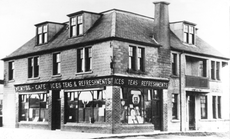Wemyss Cafe,  Links Road